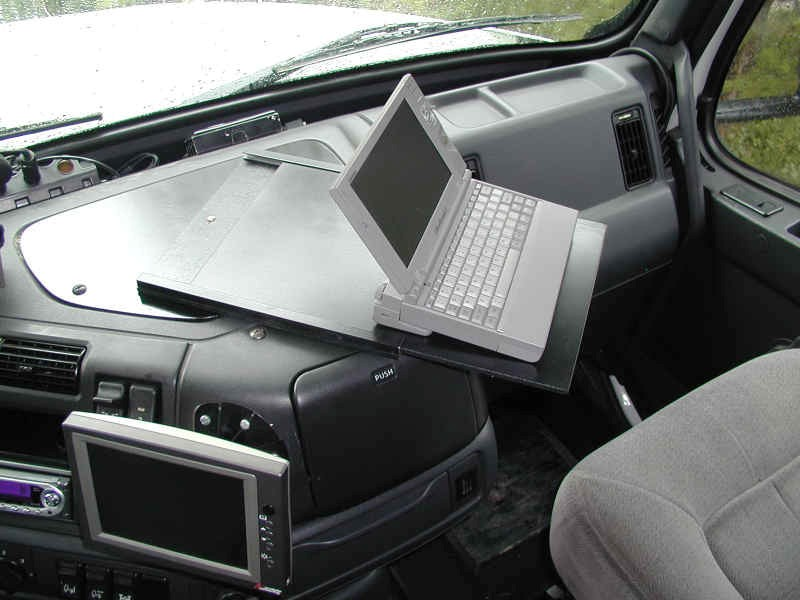 Volvo Dashboard Laptop Mount Heavy Haulers Rv Resource Guide